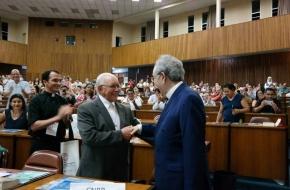 Ir. Israel Nery é homenageado pela CNBB