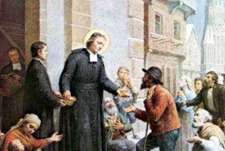 La Salle distribui pães aos pobres